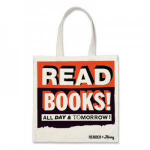 Limited Edition Reader X HENRY Canvas Tote